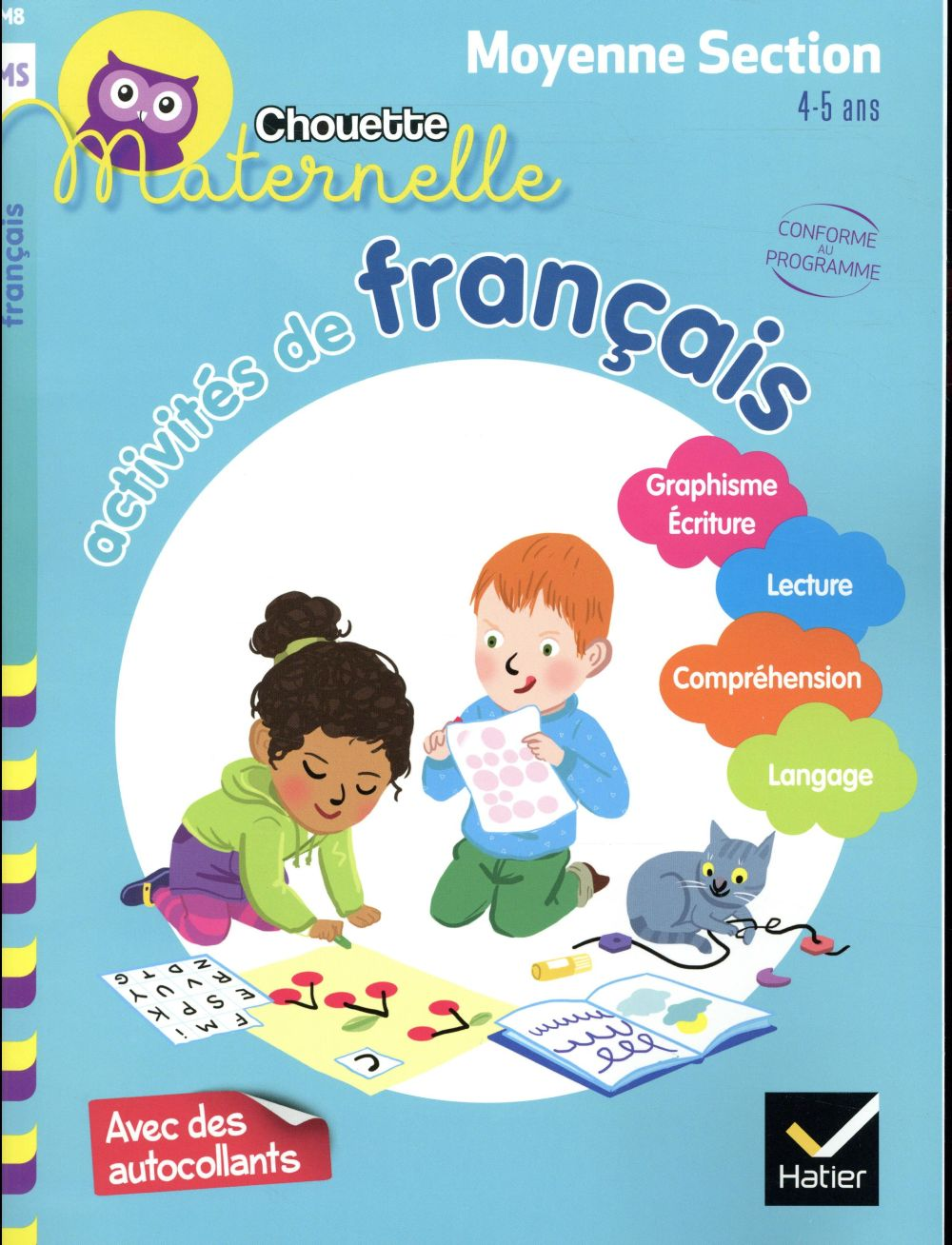 ACTIVITES DE FRANCAIS MOYENNE SECTION